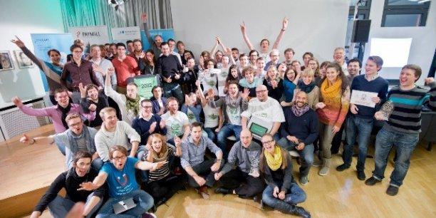 Dernière édition du startup week-end à Stuttgart.