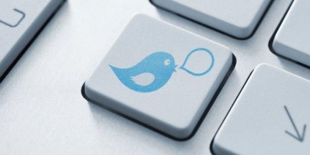 Près de la moitié des fonds français de capital-risque présents sur Twitter publient moins d'un tweet par semaine. REUTERS.
