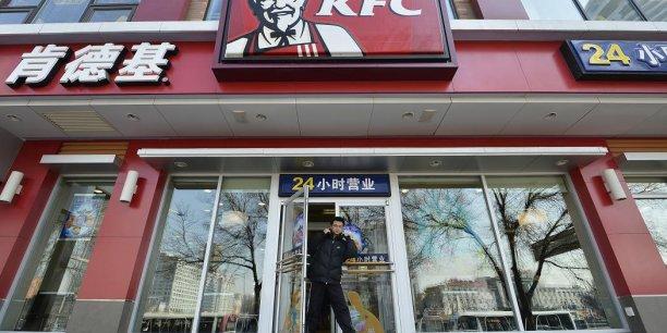 En 2013, comme ici dans la province de Shangxi, le groupe KFC était déjà accusé d'avoir vendu du poulet avarié en Chine. (Photo Reuters)