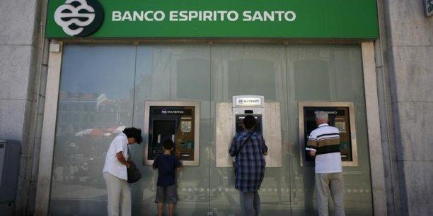 A la mi-juillet, le Contrôleur des banques du Panama (SBP) avait pris le contrôle de l'établissement ES Bank, détenu à 100% par Espirito Santo Financial Group.