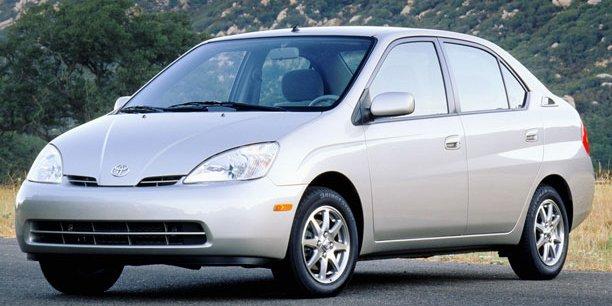 Pas très sexy, la première génération de Toyota Prius