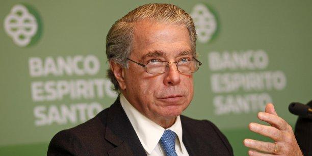 L'ancien patron de la BES avait été écarté le 20 juin de la direction de la banque après la découverte en mai d'irrégularités comptables au sein de la holding Espirito Santo International (ESI). (Photo : Reuters)