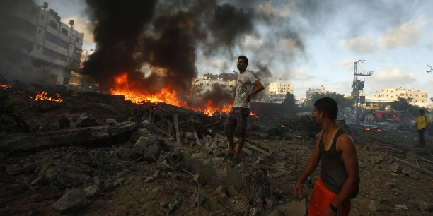 Côté palestinien, sans aide extérieure, les autorités ne seront pas en mesure de financer la reconstruction des infrastructures et habitations détruites par les bombardements. (Photo : Reuters)