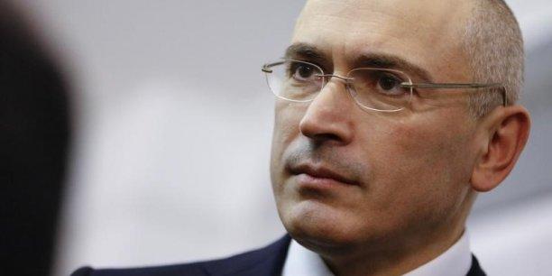 Mikhaïl Khodorkovski, propriétaire de Ioukos avant son démantèlement, était à l'époque de sa condamnation l'un des hommes les plus riches de Russie et un soutien des mouvements d'opposition à Vladimir Poutine. (Photo: Reuters)