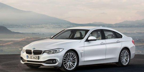 La nouvelle BMW Série 4 coupé à cinq portes