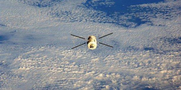 Le vaisseau s'amarrera automatiquement à la station le 12 août, pour une durée d'environ six mois pendant lesquels il deviendra un module additionnel pour les six astronautes à bord de l'ISS.  (photo ESA)