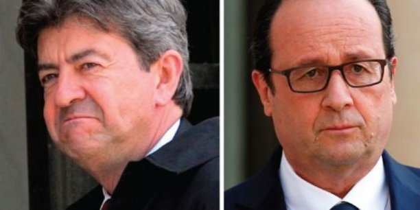 Jean-Luc Mélenchon, profite du malaise social actuel pour fraire jeu égal dans les sondages avec François Hollande. Mais les deux s'inclineraient face à la droite... et au Front National