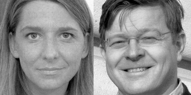 Laure Kaltenbach, DG du Forum d'Avignon et Olivier Le Guay, responsable éditorial du Forum d'Avignon.
