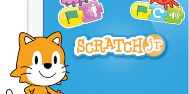 L'application gratuite ScratchJr permet aux enfants d'apprendre à coder.