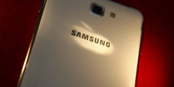 Samsung a annoncé dans un communiqué que l'accord passé avec Apple ne prévoit aucun agrément concernant les licences.