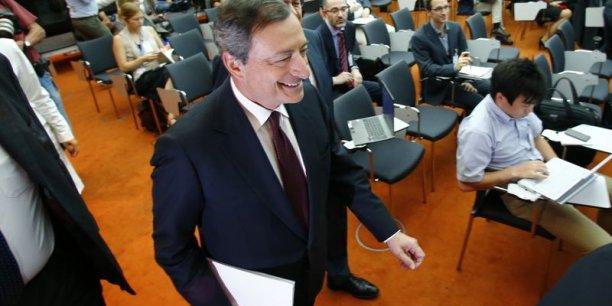 Mario Draghi tentera-t-il un assouplissement quantitatif pour faire grossir le bilan de la zone euro ?