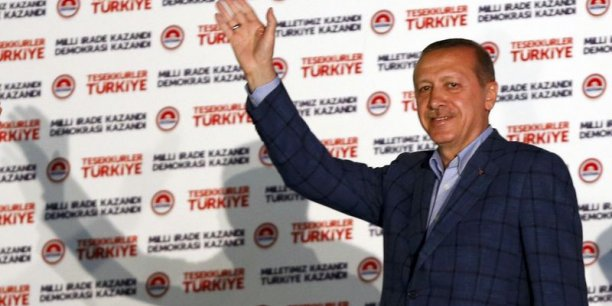 Ses détracteurs voient en Erdogan un sultan moderne, réfractaire à la critique et issu de l'islam politique. Ils redoutent que son accession à la présidence n'éloigne un peu plus encore la Turquie, membre de l'Otan et candidate à l'entrée dans l'Union européenne, de l'idéal laïque de son père fondateur.