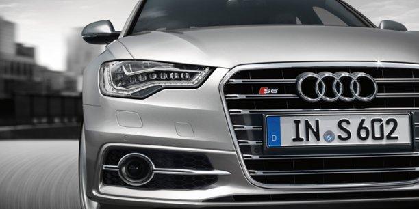 Audi S6, la grande berline sportive de la firme aux anneaux