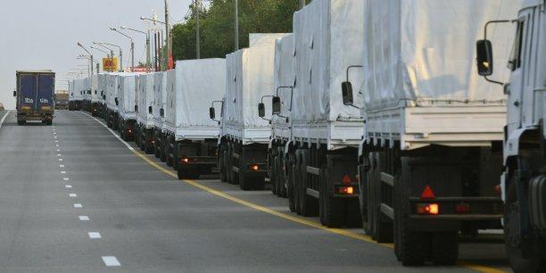 Le convoi de plus de 3 km était attendu en soirée au poste Chebekino-Pletnevka, entre la région de Belgorod (sud de la Russie) et celle de Kharkiv (nord-est de l'Ukraine), selon Moscou.