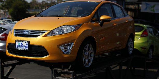 La Ford Fiesta, qui sera assemblée en 2015 dans une usine à environ 1000 kilomètres à l'est de Moscou sera le 11e modèle lancé par Ford Sollers en Russie.