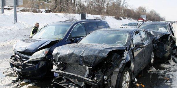 Outre-Atlantique, la vitesse est responsable de 21% du total des pertes économiques liées aux accidents de la route