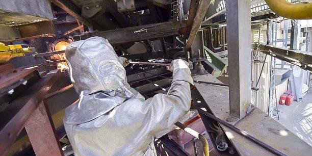 Inertam (notre photo), spécialisé dans la vitrification des déchets d'amiante, est une filiale d'Europlasma.