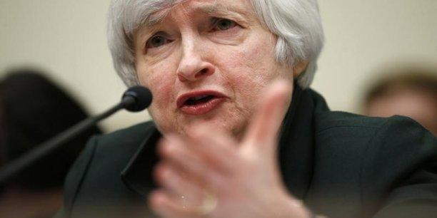 Je soulignerais que les valorisations boursières sont, à ce stade, assez élevées de manière générale, a déclaré la présidente de la Réserve Fédérale américaine.