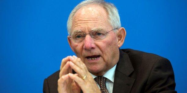 A l'Eurogroupe, la ligne de Wolfgang Schäuble l'a emporté.