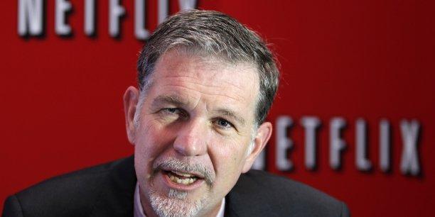 Le patron de Netflix Reed Hastings.