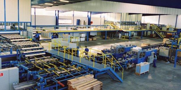 Site de Gascogne Wood Products, à Castets (40).