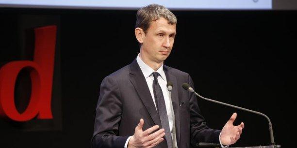 Maxime Lombardini, directeur général d'Iliad (maison mère de Free)