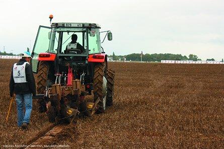 Les finales mondiales du championnat de labour ne sont qu'un des nombreux rendez-vous que l'agriculture propose au travers des Les Terres de Jim