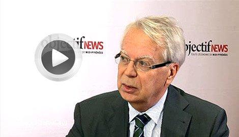 Gilbert Casamatta, président de l'Université de Toulouse
