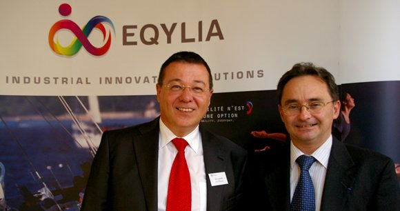 Jean-Luc Guérin (Erco Finances) et Thierry Pardessus (Airbus Innovation Cell)