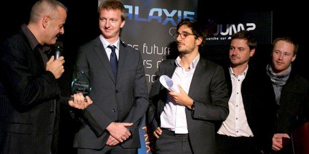 L'équipe de Delair-Tech reçoit le Prix Galaxie 2012