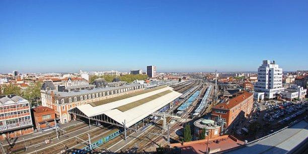Des étudiants en architecture de Toulouse préconisent un déplacement du terminus de la future LGV Bordeaux-Toulouse.