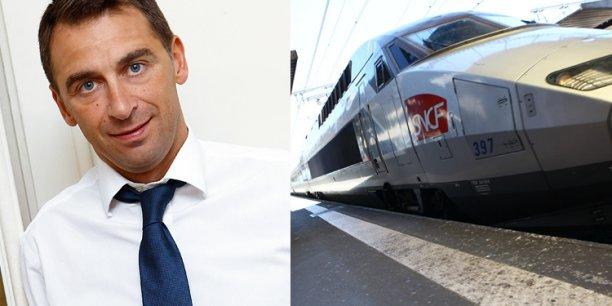 Olivier Sadran, PDG de Newrest l'entreprise toulousaine. © photo Rémi Benoit