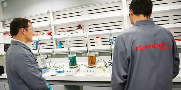 La société vient d'inaugurer son nouveau laboratoire de 1.000 m2.  Alexandre Léoty© Photo Fred Lancelot