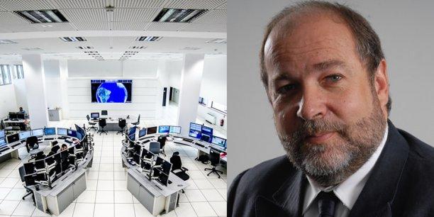 Centre de contrôle de CLS / Christophe Vassal, PDG de CLS. © Photo Jean-Yves Valentin