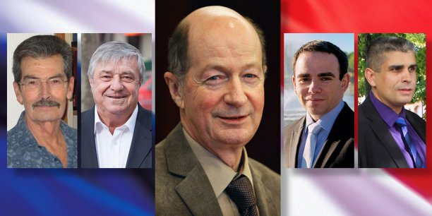 Michel Indelicato, Bernard Loumagne, Bernard Keller, David Gerson, André Bernardini