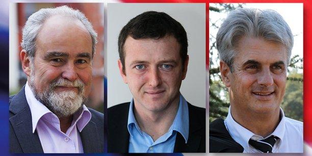 Marc Tondriaux, Arnaud Lafon et Patrice Tournon