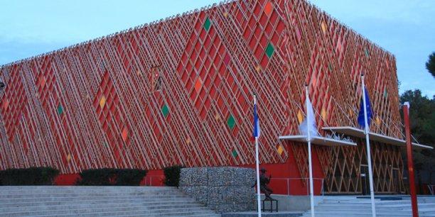 Une des réalisations de Betem, le théatre du domaine d'O, à Montpellier