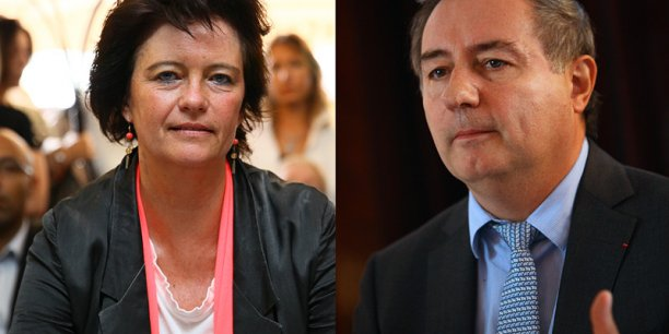 Christine de Veyrac et Jean-Luc Moudenc