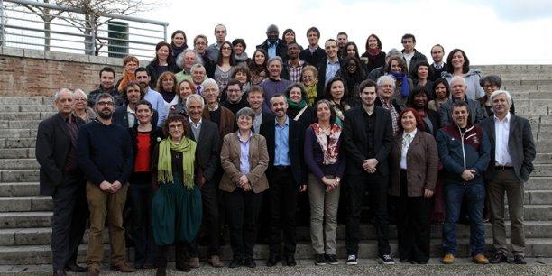 Les membres de la liste Toulouse Vert Demain
