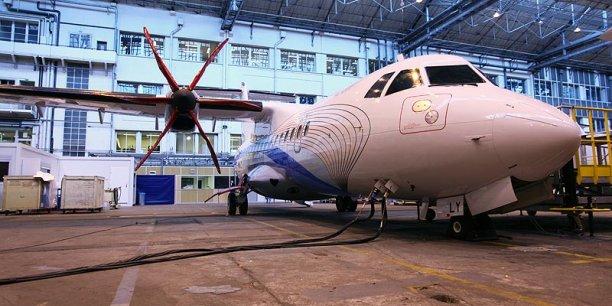 La société de location d'avions des Émirats Arabes Unis, DAE, s'est offert 40 ATR 72-600.