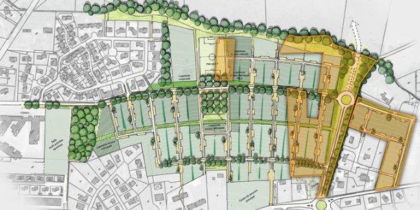 À L'Isle Jourdain, l'écoquartier comprendra 380 logements.