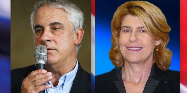 Christian Sempé (à gauche) et Dominique Faure (à droite)