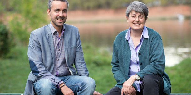 Antoine Maurice et Michèle Bleuse
