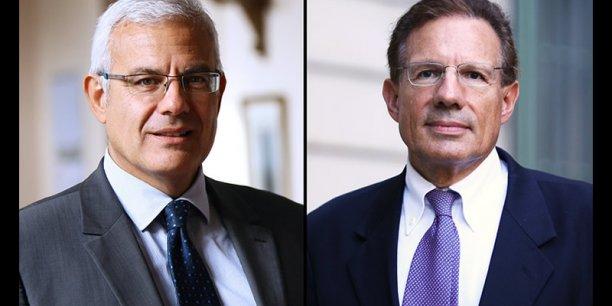 Alain Di Crescenzo et Patrick Berger. © photo Rémi Benoit