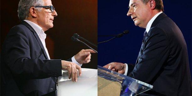 Pierre Cohen et Jean-Luc Moudenc