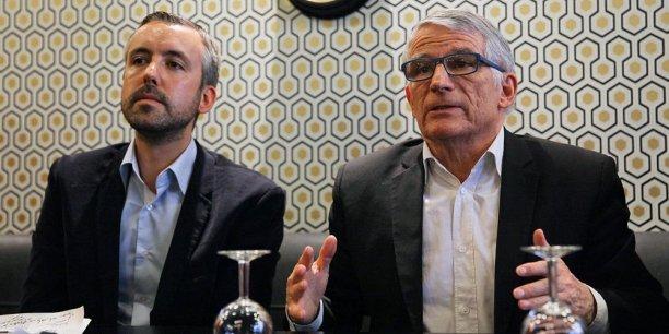 Conférence de presse commune d'Antoine Maurice et Pierre Cohen ce lundi