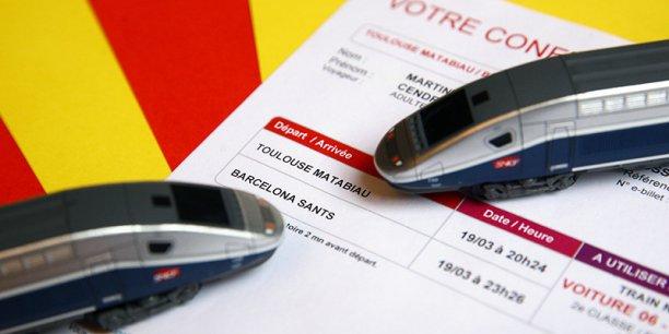 12.000 billets Toulouse-Barcelone commercialisés par la SNCF depuis le 15 décembre 2013