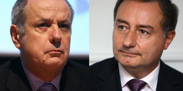 Alain Fillola et Jean-Luc Moudenc