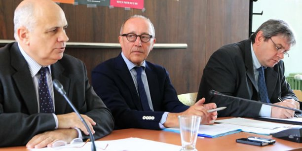Christian Desmoulins, Jean-Louis Chauzy et Hervé Pingaud