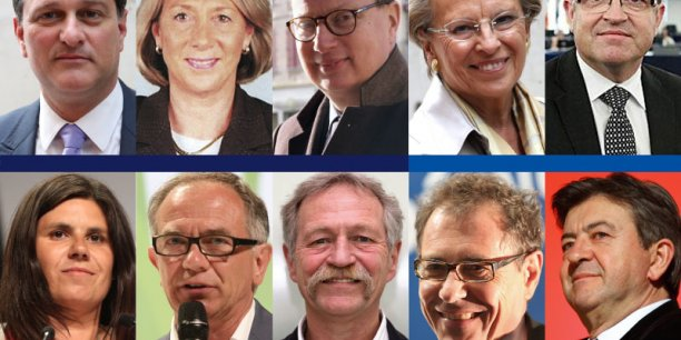 Les 10 eurodéputés du Sud-Ouest